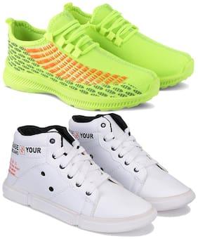 BERSACHE Men Multi-Color Casual Shoes - COMBO(MR)-1735-3219