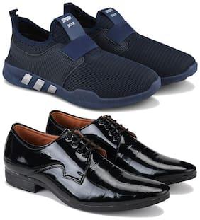 BERSACHE Men Multi-Color Casual Shoes - COMBO(MR)-1730-3026