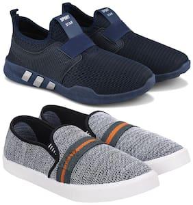 BERSACHE Men Multi-Color Casual Shoes - COMBO(MR)-1730-1032