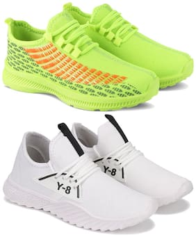 BERSACHE Men Multi-Color Casual Shoes - COMBO(MR)-1735-1636