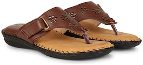 BIG BIRD FOOTWEAR Women Brown Sandals