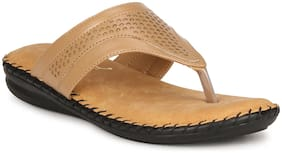 BIG BIRD FOOTWEAR Women Beige Sandals