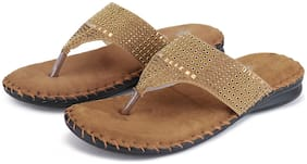 BIG BIRD FOOTWEAR Women Tan Sandals