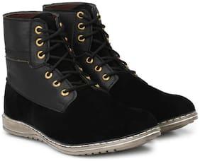 Men Black Ankle Boots