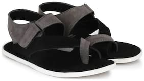 Big Fox Men Black Sandals