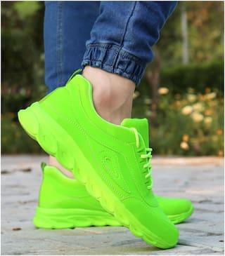 Biggie Men Running Shoes ( Green )
