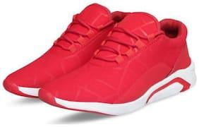 Biggie Men Running Shoes ( Red )