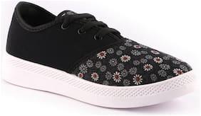 Birde Women Black Sneakers