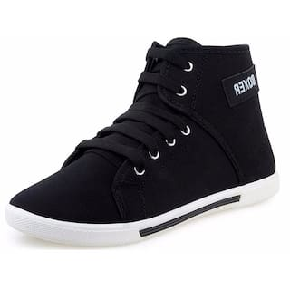 Birde Men Black Casual Shoes - HP-011