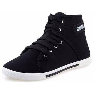 Birde Men Black Casual Shoes - HP-011