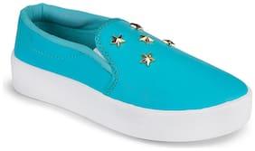 Birde Women Blue Casual Shoes