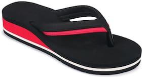 Birde Women Black Slippers