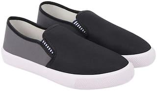 Birde Grey Canvas Casual Shoes