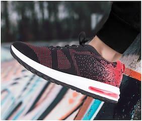 Enso Men's Black Sports Shoes