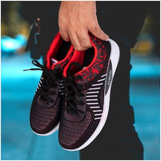 Enso Men's Red Sports Shoes
