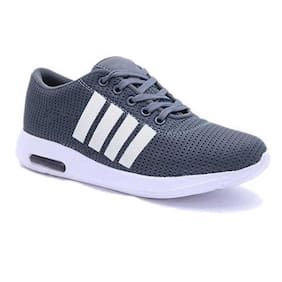 Men Grey Casual Shoes ,Pack Of 1 Pair