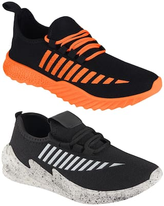 Birde Men Multi-Color Casual Shoes - BRD-359-324-GRY