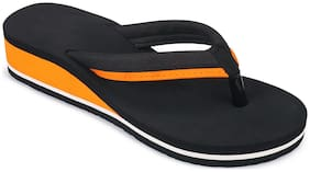 Birde Orange EVA Slippers For Women