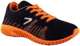 Birde Orange & Black Sports Shoes for Men