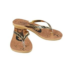 Birde Golden & Black Slipper