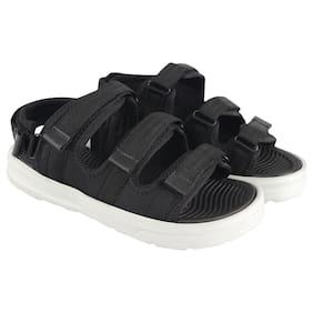 Birde Men Black Sandals