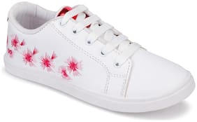 Birde Women White Sneakers