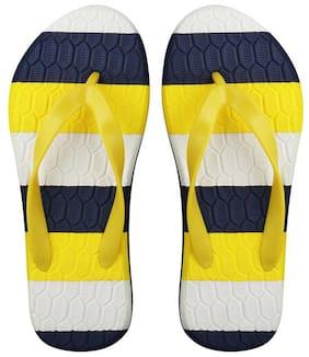 Imported Yellow & Blue Eva Slipper for Men