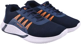 Stylish & Comfortable Running Shoes For Men ( Blue )