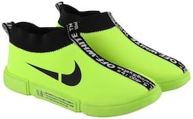 Bizwiz Men Green Casual Shoes - BLSC2-GRN