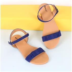 BK DREAM Women Blue Sandals