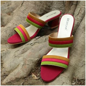 BK DREAM Women Multi Color Sandals