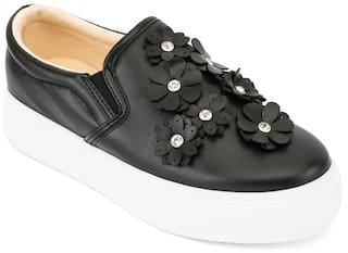 Truffle Collection Black Sneakers & Sports Shoes