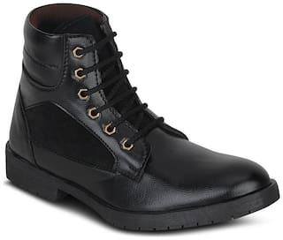Black-Non Leather-Kielz-Synthetic