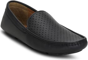 Get Glamr Men Black Loafer