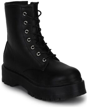 Truffle Collection Women Black Boot