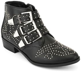 Truffle Collection Black Boots