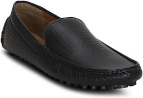 Get Glamr Men Black Loafer - Loafers