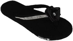 Blackcoal Women Black Slippers