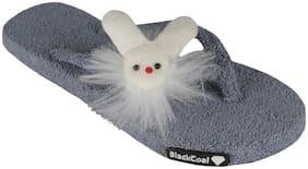 Blackcoal Women Grey Slippers