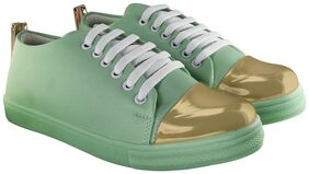 Blinder Women Green Sneakers