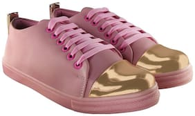 Blinder Women Pink Sneakers