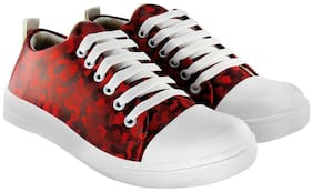 Blinder Women Red Sneakers