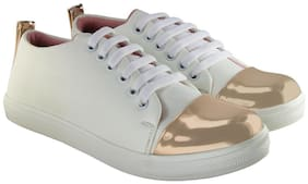 Blinder Women White Sneakers