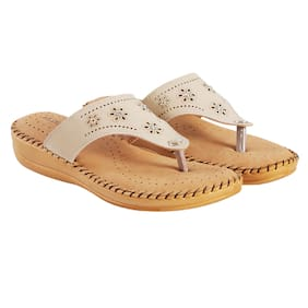 4df8d8084731b8 Blinder Women s Cream Latest Doctor Slipper and Flip Flop
