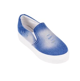 BLUE DENIM CASUAL SHOES BY BERRY PURPE