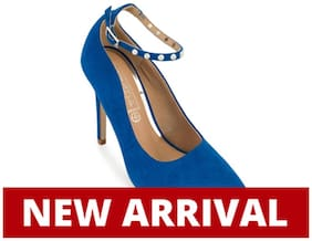 Truffle Collection Blue Heels