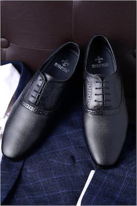 Men Oxford Formal Shoes ( Black )