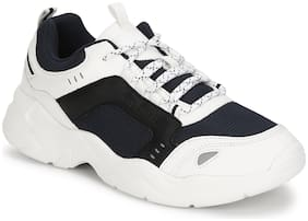 Bond Street by Red Tape Men BSE0547 Running Shoes ( White & Navy Blue )
