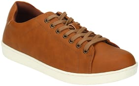 Men Tan Classic Sneakers