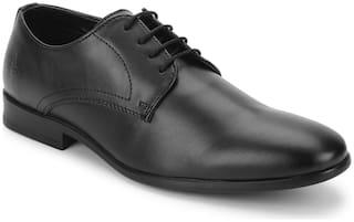 Bond Street by Red Tape Men Black Derby Formal Shoes - BSE0631 - BSE063